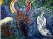 Chagall Moïse et le Buisson ardent Musée de Nice